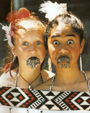 image Maori new zealand girl part 2